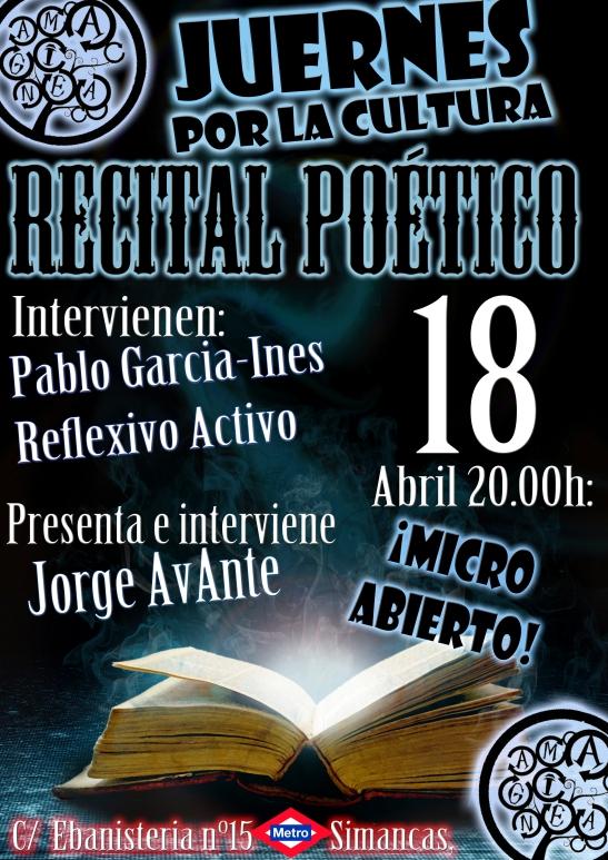 Poesia 18 Abril AMAGINEA